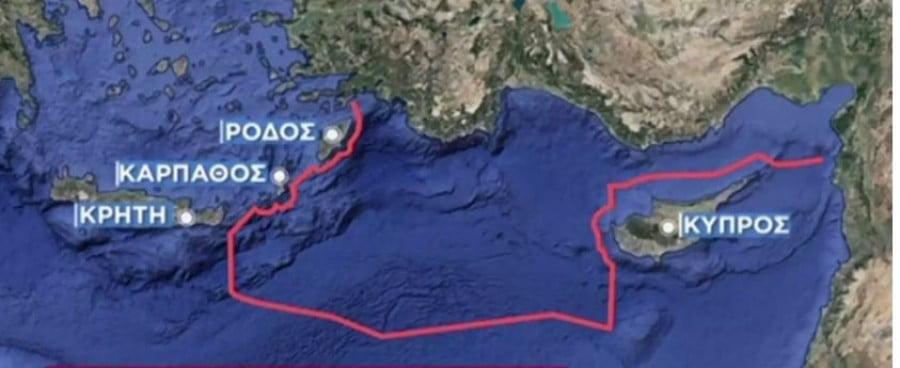 Ακραία πρόκληση – Η Τουρκία σχεδιάζει έρευνες για πετρέλαιο εντός των ελληνικών χωρικών υδάτων κοντά σε Ρόδο, Κάρπαθο και Κρήτη