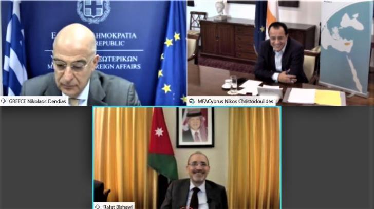 Στο Ιράκ η τριμερής Κύπρου-Ελλάδας-Ιορδανίας