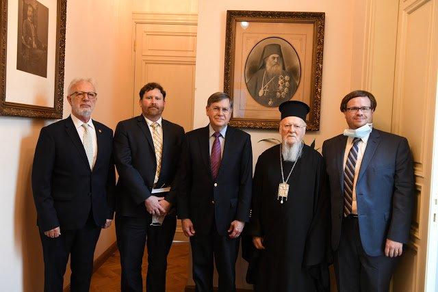 Μια επίσκεψη με νόημα: Ο Πρεσβευτής των Η.Π.Α στο Οικουμενικό Πατριαρχείο