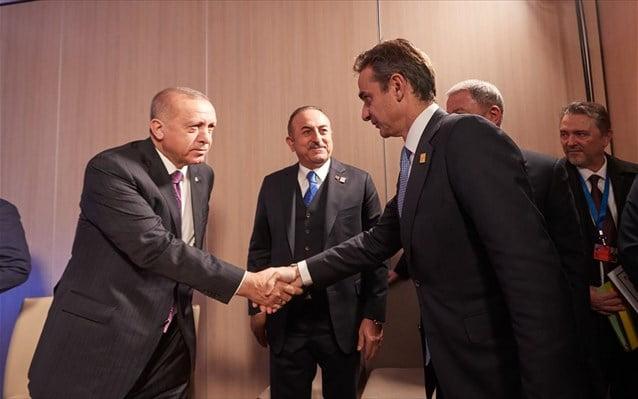 Μητσοτάκης – Ερντογάν: Βήμα προσέγγισης σε δυσμενές κλίμα
