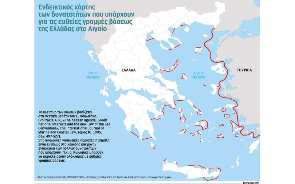 Ποια είναι τα βήματα που πρέπει να κάνει η Ελλάδα, μέχρι να επεκτείνει τα ΧΥ στα 12 μίλια
