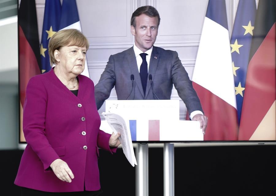 Μέρκελ-Μακρόν προς εταίρους: Αφήστε Κίνα – ΗΠΑ, το θέμα είναι η ΕΕ