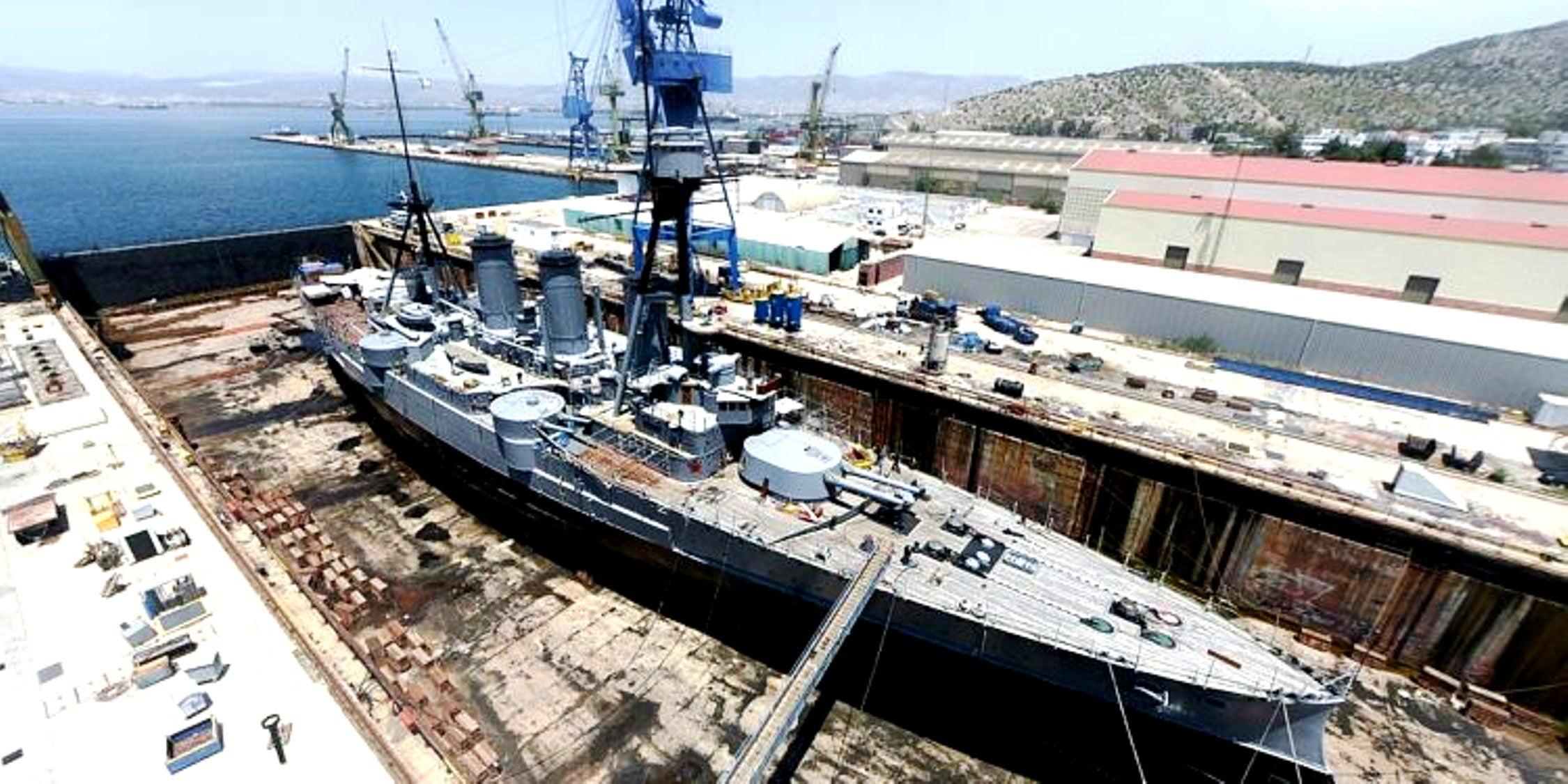 Ναυπηγεία Σκαραμαγκά: Πωλούνται με «προίκα» εξοπλιστικά προγράμματα του Πολεμικού Ναυτικού
