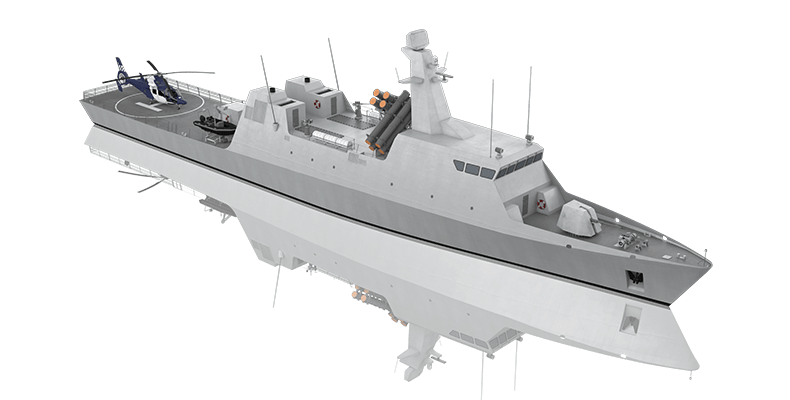 """""""Θεμιστοκλής""""… ONEX-Israel Shipyards μαζί για μια πρωτοποριακή κορβέτα"""