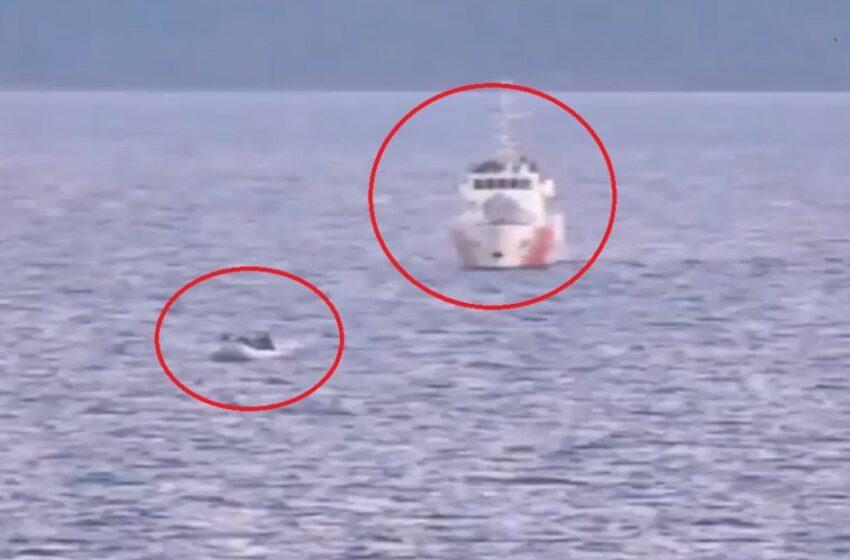 Νέα πρόκληση: Τουρκικές ακταιωροί συνοδεύουν βάρκες με μετανάστες προς τα ελληνικά ύδατα
