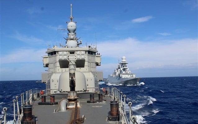 Ελληνο-ιταλική συνεκπαίδευση μονάδων του Πολεμικού Ναυτικού