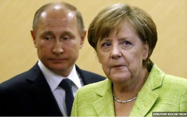 Τηλεφωνική επικοινωνία Μέρκελ – Πούτιν για Ουκρανία, Ιράν και Λιβύη