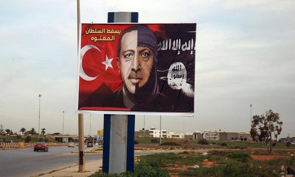 """""""Ξεζουμίζει"""" τη Λιβύη ο Ερντογάν: Λίβυος τραπεζίτης κατέθεσε δισ. δολάρια στην Τουρκία"""