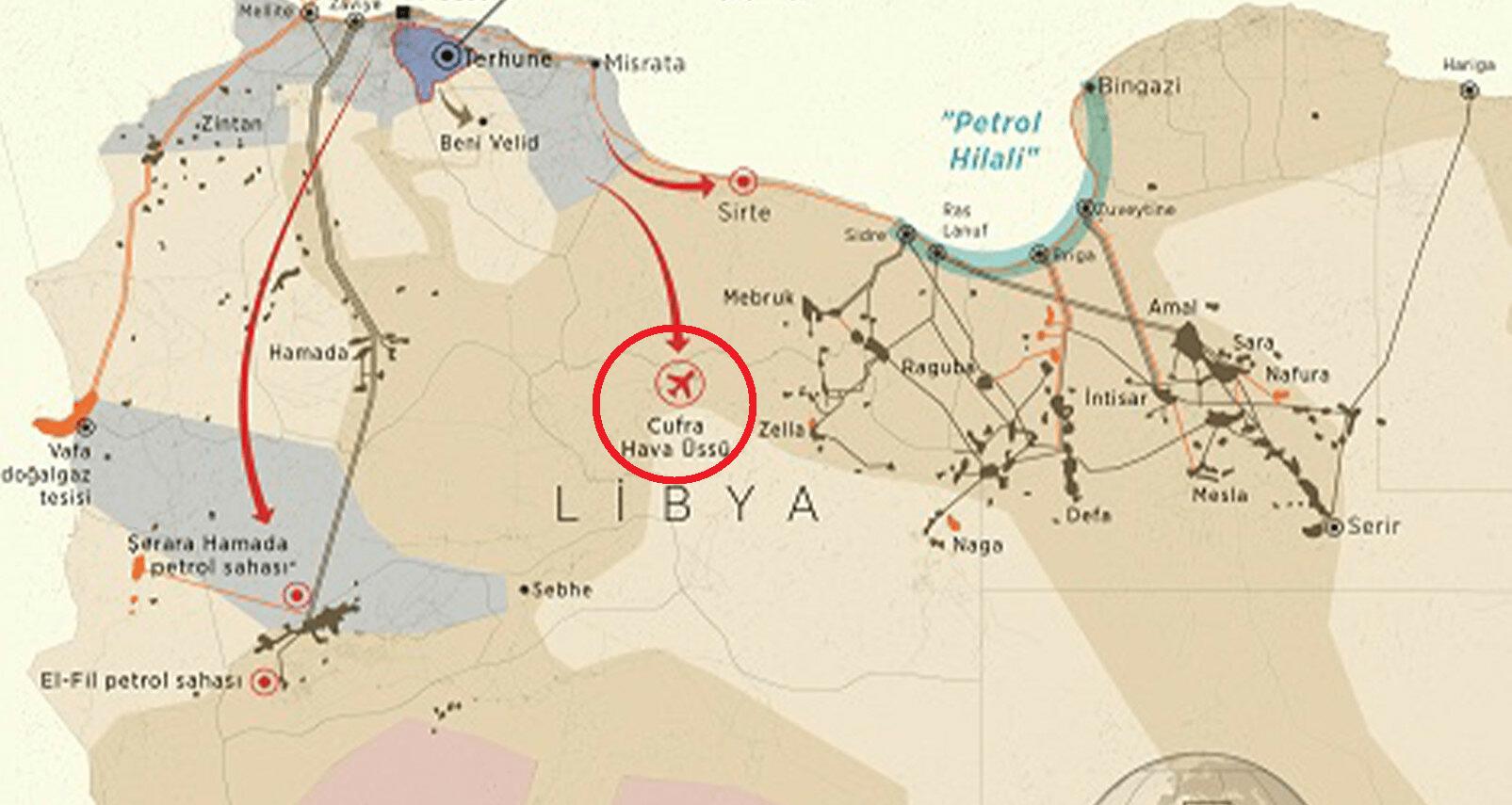 Ο νέος στόχος της Τουρκίας στη Λιβύη είναι η απομάκρυνση του Χαφτάρ από τη βάση αλ-Τζούφρα