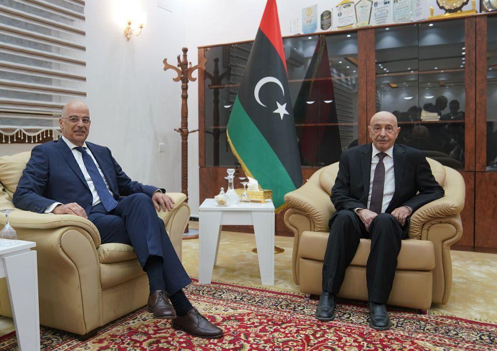 Επίσκεψη Δένδια στη Λιβύη: «Ναι» σε άνοιγμα ελληνικού προξενείου και σε νέα συμφωνία για την ΑΟΖ