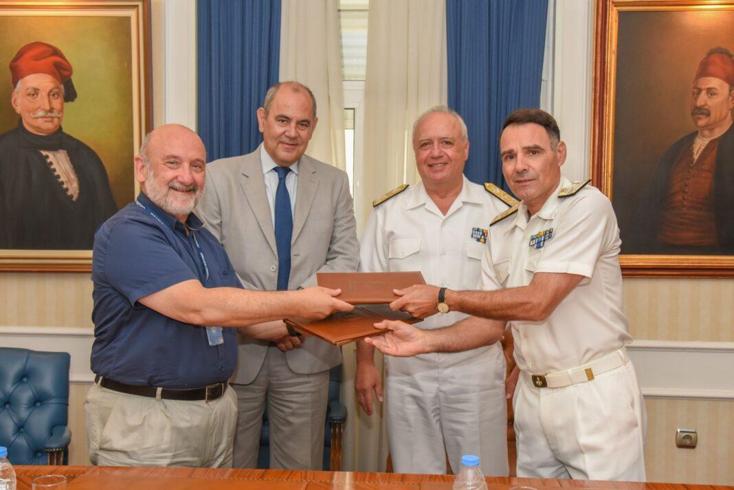 Υπογραφή Πρωτοκόλλου Συνεργασίας μεταξύ Πολυτεχνείου Κρήτης και Σχολής Ναυτικών Δοκίμων