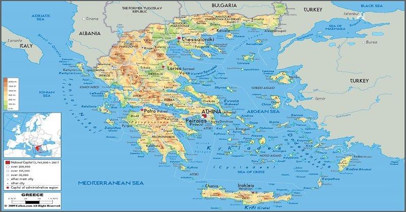 Ελλάδα: νησιωτική – χερσαία = ενιαία και αδιαίρετη