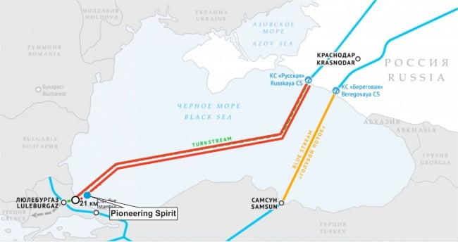 Κρεμλίνο κατά ΗΠΑ για τις κυρώσεις κατά των αγωγών Nord Stream 2 και Turkish Stream