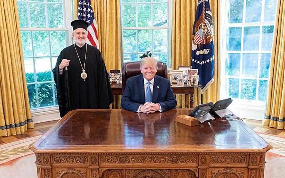 Ο Τραμπ εξέφρασε στον Αρχιεπίσκοπο Αμερικής Ελπιδοφόρο την έντονη δυσαρέσκειά του για τη μετατροπή της Αγίας Σοφίας σε τζαμί