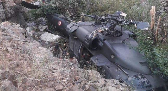 Ελικόπτερο του τουρκικού στρατού κατέπεσε στο τουρκοκρατούμενο Κουρδιστάν