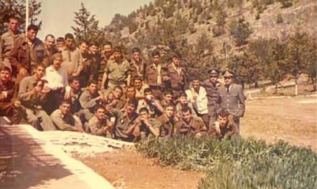 Ο Διοικητής του 361 Τάγματος Πεζικού Ανχης ΠΖ Χάντζος Δημήτριος