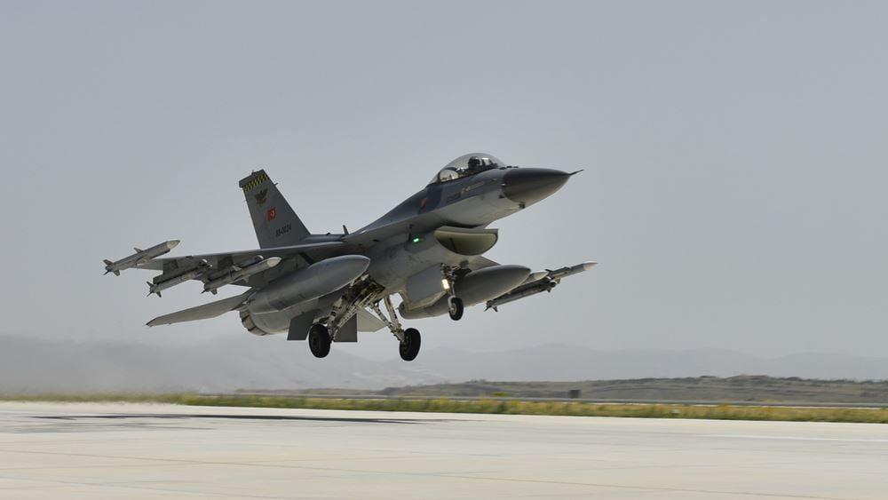 Τον… αμανέ τους οι Τούρκοι: Υπερπτήσεις τουρκικών F-16 πάνω από τις Οινούσες και την Παναγιά