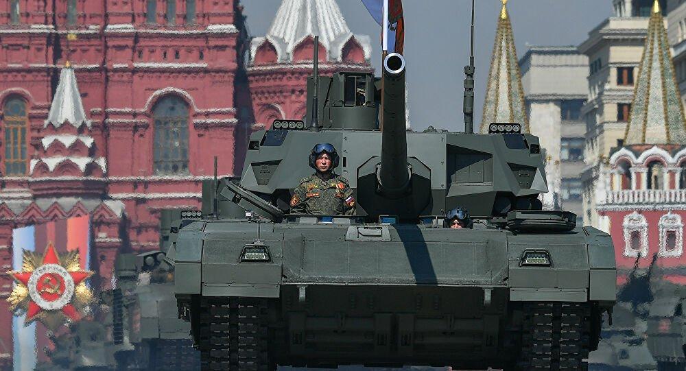 Υπερσύγχρονο ρωσικό τανκ σε λειτουργία χωρίς πλήρωμα