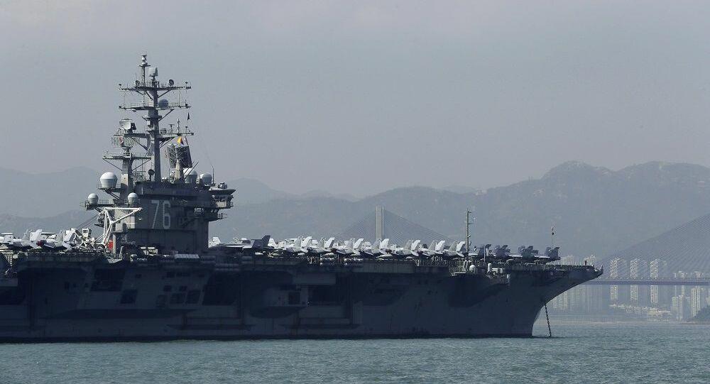 Αμερικανικά αεροπλανοφόρα κάνουν ασκήσεις στη Θάλασσα της Νότιας Κίνας