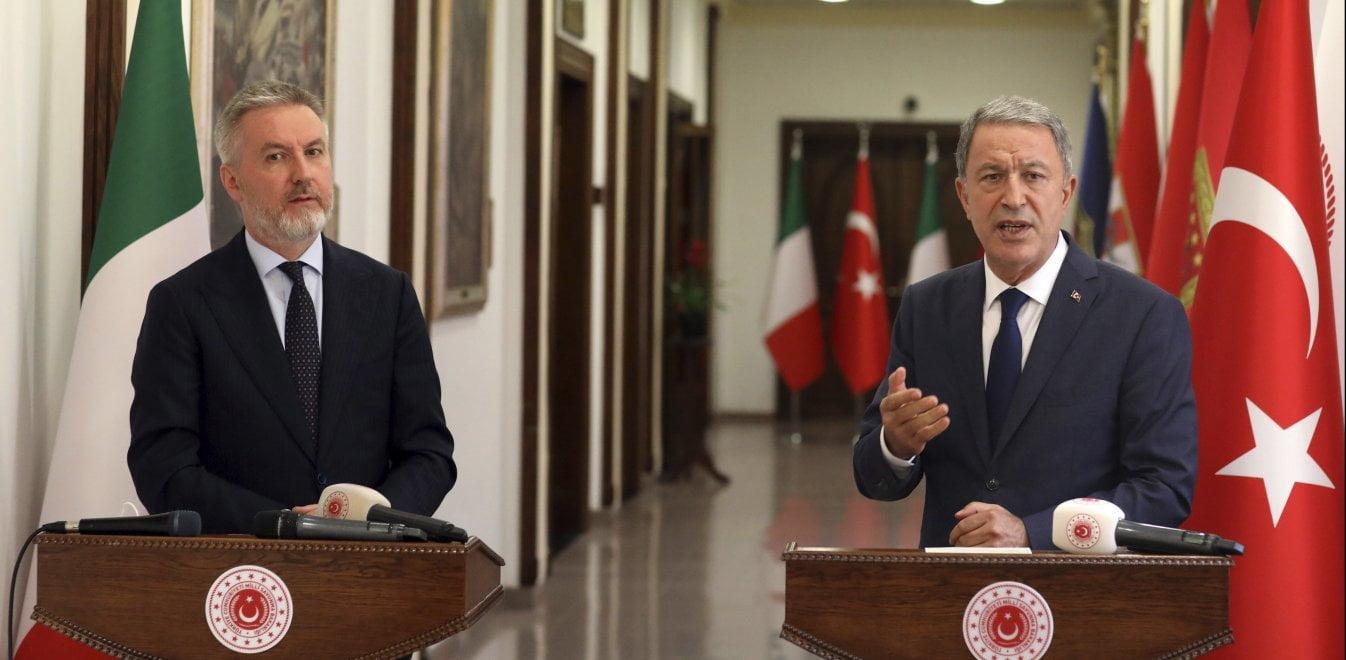 Ακάρ: Σημαντικές οι προοπτικές συνεργασίας με την Ιταλία στην ανατ. Μεσόγειο
