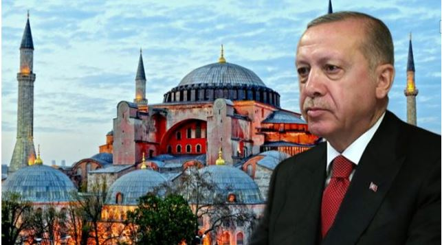 Ο Σουλτανικότερος  Υπερ-Μεγαλοπρεπής  Ερντογάν και η Αγιά Σοφιά