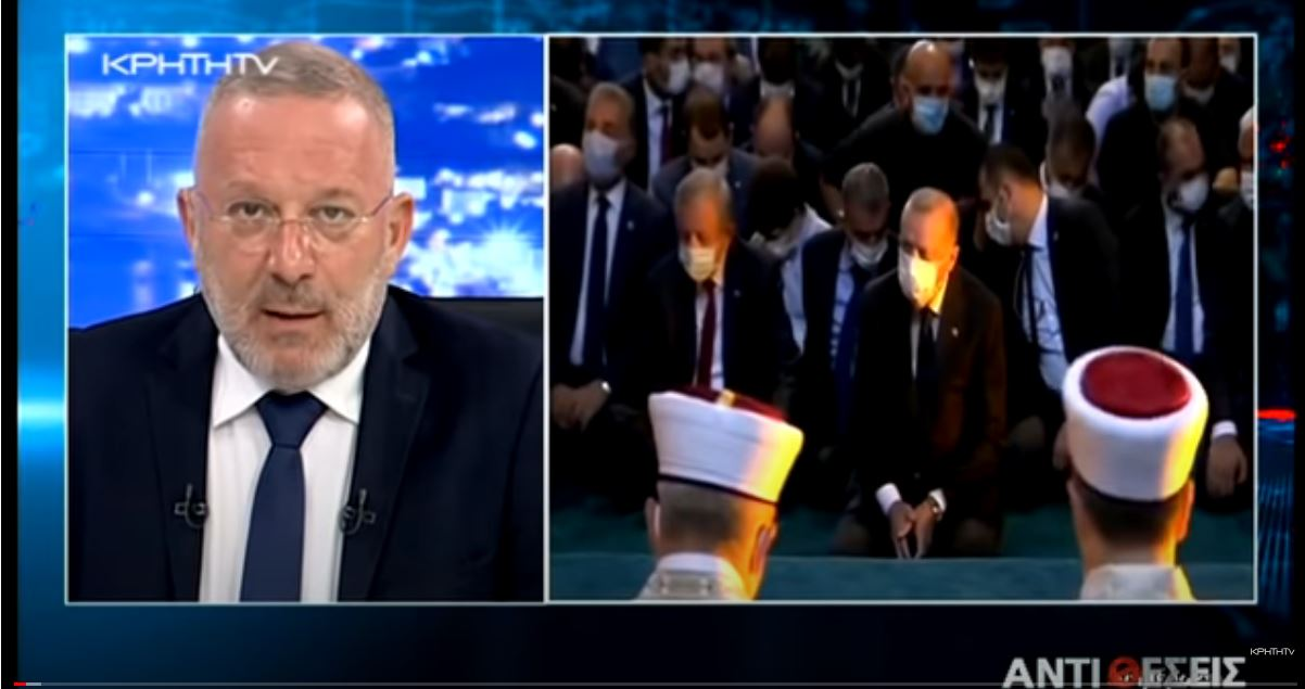 """Εκπομπή Γ. Σαχίνη """"Αντιθέσεις"""": Ελληνο-Τουρκική Σκακιέρα σε Αιγαίο και Ανατολική Μεσόγειο (βίντεο)"""