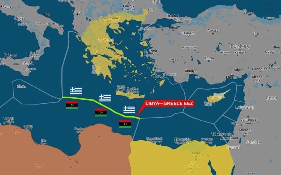 The Libyan Address Journal: Λιβύη και Ελλάδα υπογράφουν συμφωνία οριοθέτησης ΑΟΖ