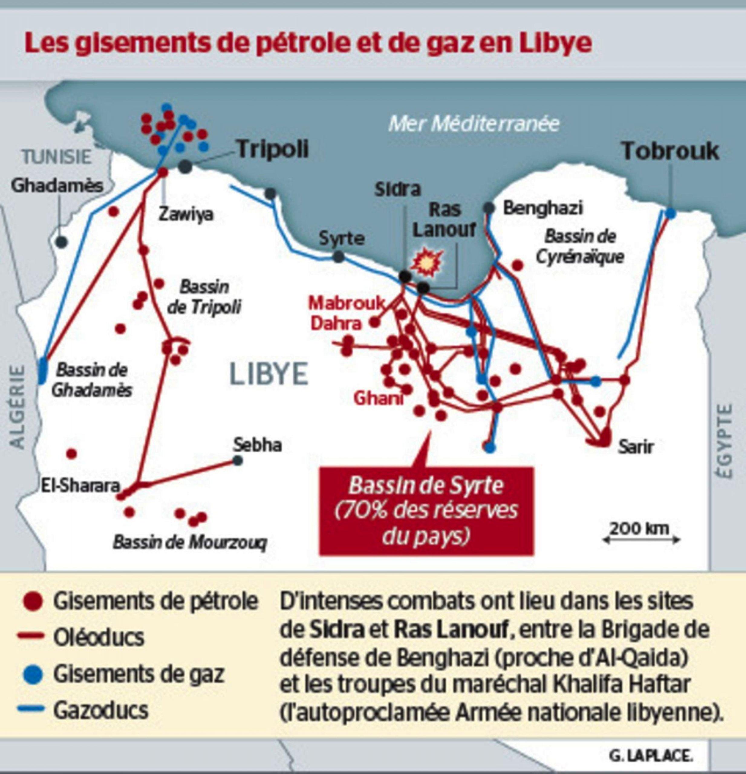 Λιβύη – Ρώσοι ιδιωτικοί στρατιωτικοί ανάλαβαν τον έλεγχο του μεγαλύτερου κοιτάσματος πετρελαίου, ο αλγερινός στρατός σε επιφυλακή