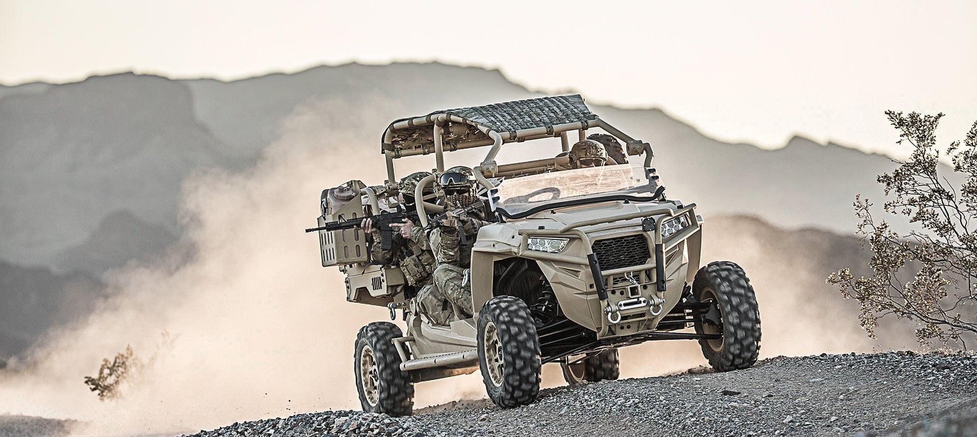 Οχήματα Παντοδαπού εδάφους POLARIS 4X4   Μια δυνητική επιλογή και για τις Κυπριακές Ειδικές Δυνάμεις