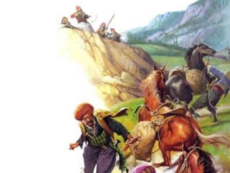 8 Ιουλίου 1824: Νίκη των Ελλήνων υπό τον Δήμο Σκαλτσά στο Λιδωρικι