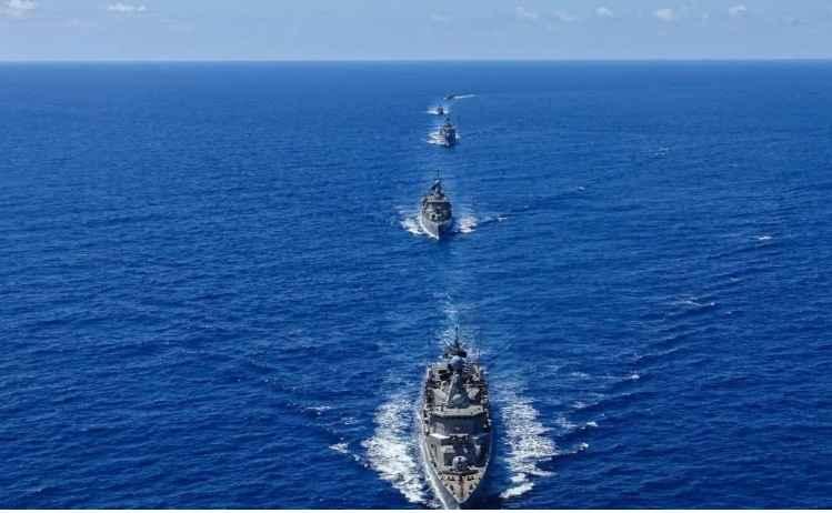 Ο ελληνικός στόλος αναπτύχθηκε και εξαπλώθηκε ώς την Κύπρο