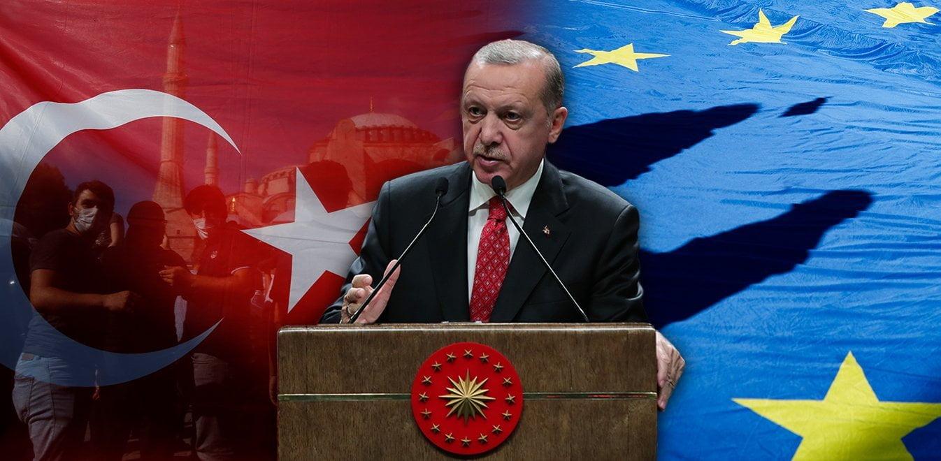 Ανάλυση Financial Times: Γιατί ο Ερντογάν έκανε τζαμί την Αγία Σοφία