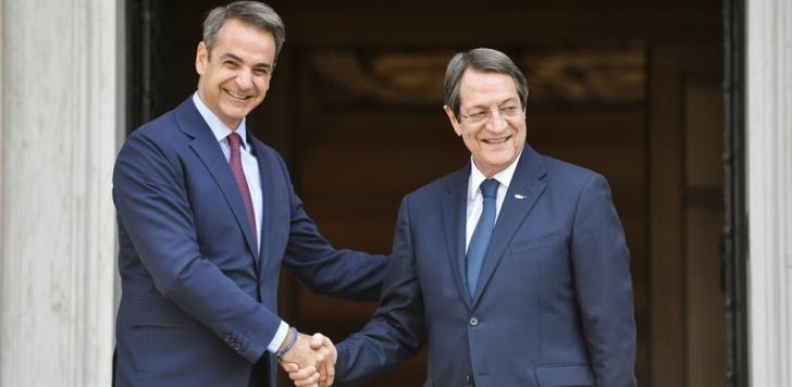 Κοινή γραμμή Ελλάδας – Κύπρου απέναντι στις τουρκικές προκλήσεις: Στην Αθήνα την Τρίτη ο Αναστασιάδης