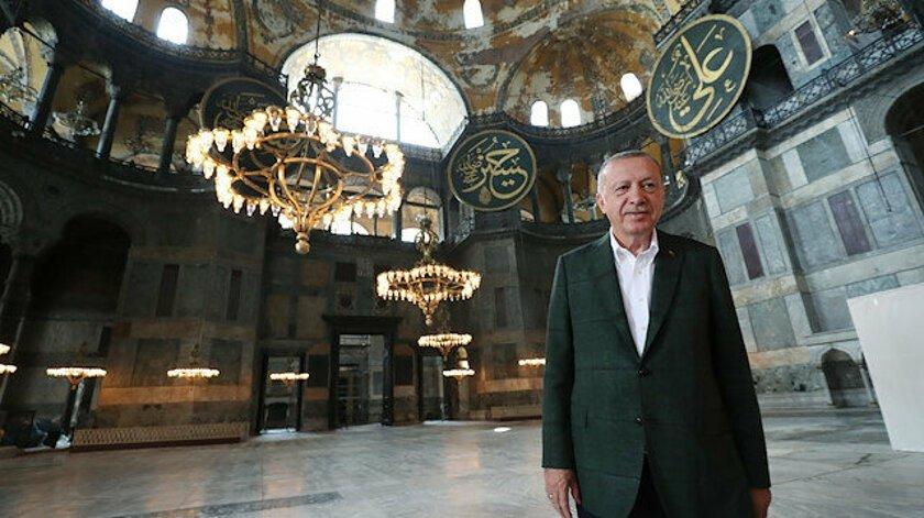 Η μετατροπή της Αγίας Σοφίας σε τζαμί και τα σχέδια του Ερντογάν