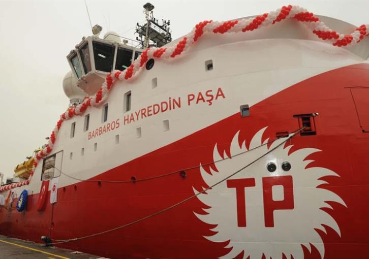 Η διαφορά στα δύο τουρκικά σκάφη είναι στα … ονόματα!