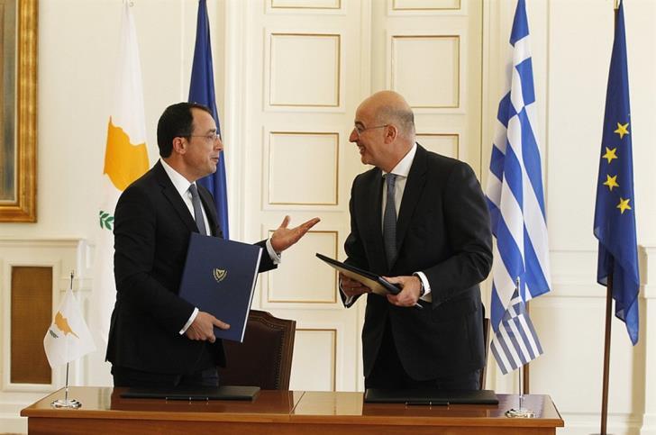 Αναγκαίος ο συντονισμός ενεργειών, αναβάθμιση της συνεργασίας Ελλάδας και Κύπρου