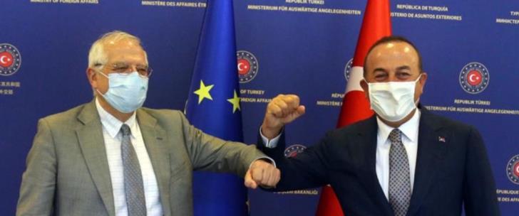 Δεν θα θέσει θέμα κυρώσεων στην Τουρκία ο Μπορέλ