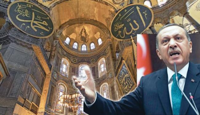 Αγία Σοφία: Έφθασε στα όριά του ο Ερντογάν - Infognomon Politics