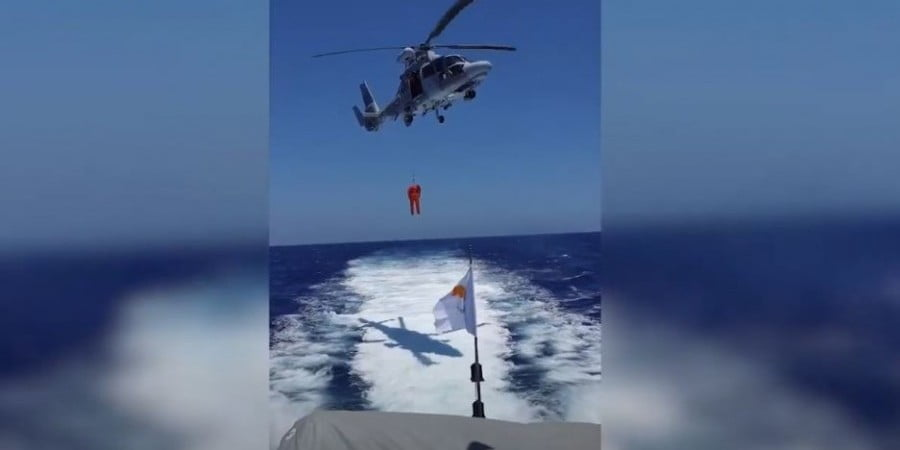 Εντυπωσιακά πλάνα από αεροναυτική άσκηση Κύπρου-Ελλάδος-Γαλλίας-Ιταλίας στην ΑΟΖ της Κύπρου (ΒΙΝΤΕΟ)