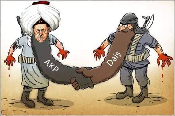 """Η """"σύγχρονη"""" έκδοση της Τουρκίας, διάδοχος του βάρβαρου ISIS !!!.."""