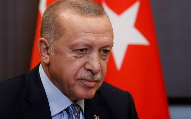 Ερντογάν: Θα προστατεύσουμε τα δικαιώματά μας στην Αν. Μεσόγειο όπως έγινε με την Αγία Σοφία