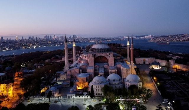 Διαμαρτυρία Διακοινοβουλευτικής Συνέλευσης Ορθοδοξίας για την αλλαγή καθεστώτος στην Αγία Σοφία