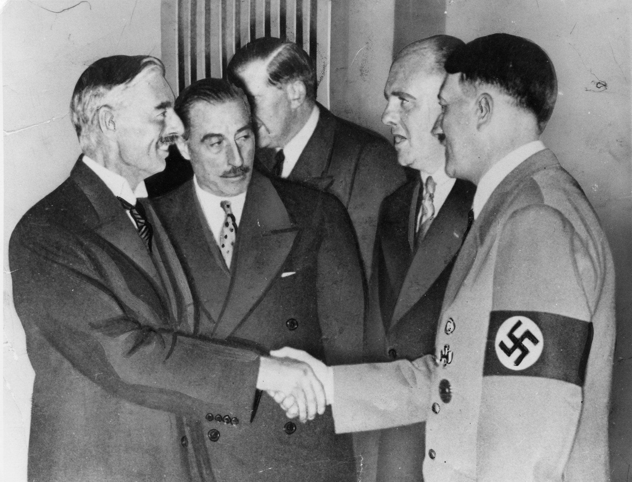 Η Πολιτική Κατευνασμού του Τσάμπερλεν και η ΕΕ