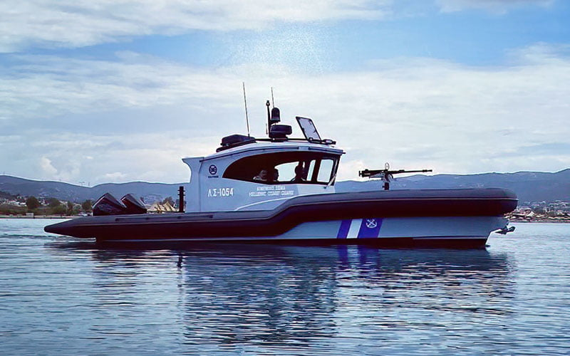 Ντεμπούτο για το νέο φουσκωτό σκάφος του Λιμενικού Σώματος (ΦΩΤΟ)