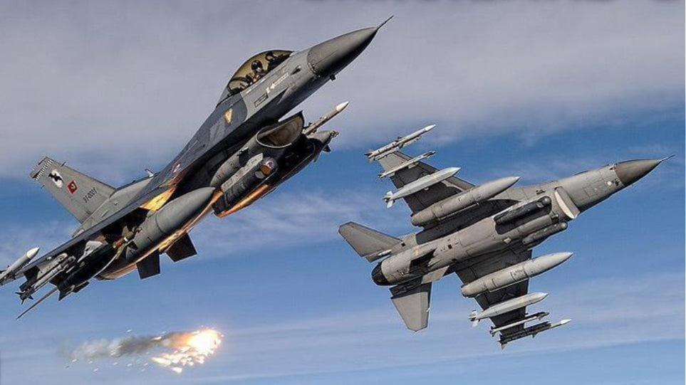 Νέοι ψευτοτσαμπουκάδες των Τούρκων: Υπερπτήσεις και 5 «dogfights» ελληνικών και τουρκικών F-16