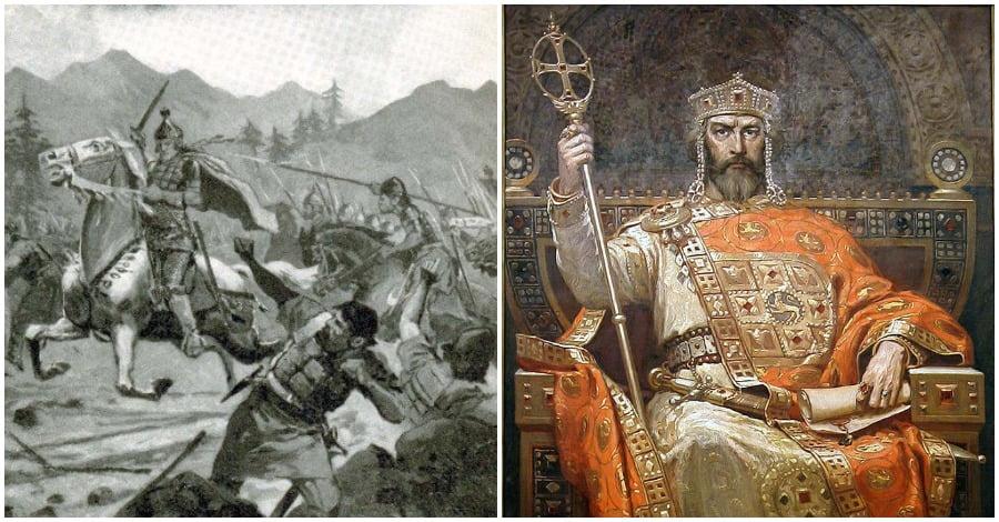 Ο Βουλγαροκτόνος τυφλώνει χιλιάδες στρατιώτες του Σαμουήλ για παραδειγματισμό