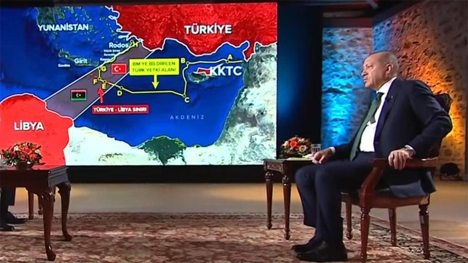Η πολιτική του κ. Ερντογάν στη Λιβύη και στην περιοχή της Αν. Μεσογείου