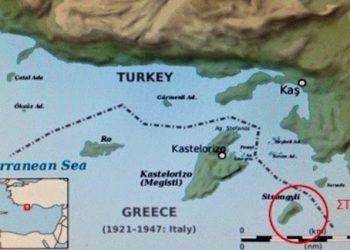 Η στρατηγική σημασία της νήσου Στρογγύλης