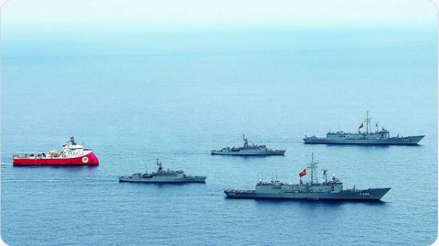 Ελληνική αντί- Navtex στις τουρκικές προκλήσεις με το Ορούτς Ρέις
