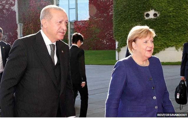 Ο Ερντογάν θα ζητήσει από την Μέρκελ διάσκεψη των μεσογειακών χωρών, κατά την Sabah